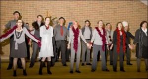 koor van het jaar foto repetitie